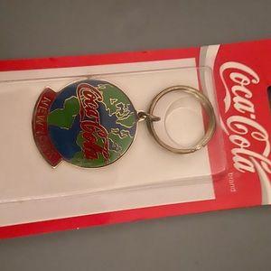 NIP Coca Cola New York key chain